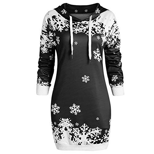 vemow hei er einzigartiges design mode damen frauen frohe weihnachten schneeflocke gedruckt tops